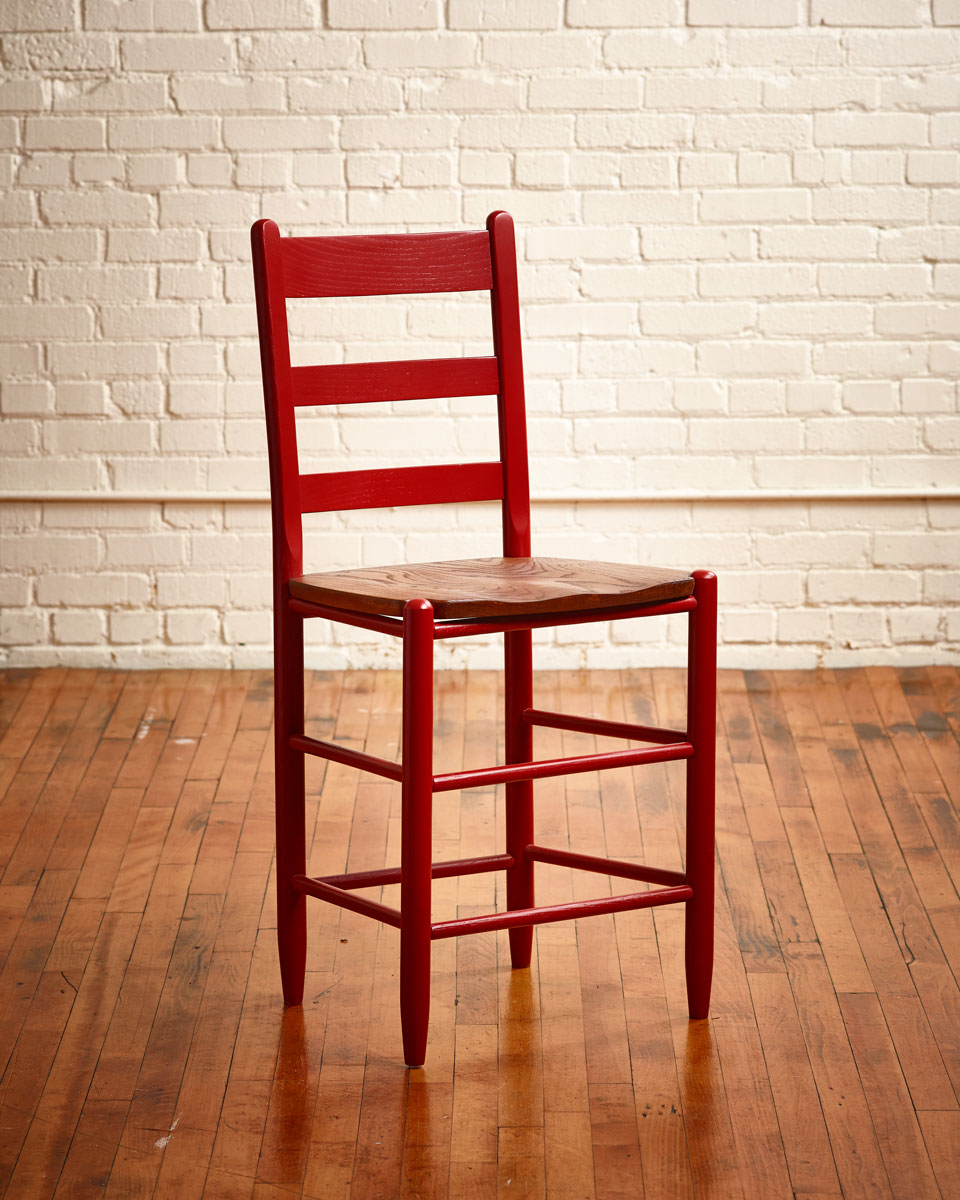 1924 Cottage Ladder Back Stool