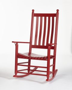 Red Rocking Chair - rocking chair colors