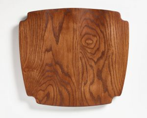 Village Oak Solid Seat