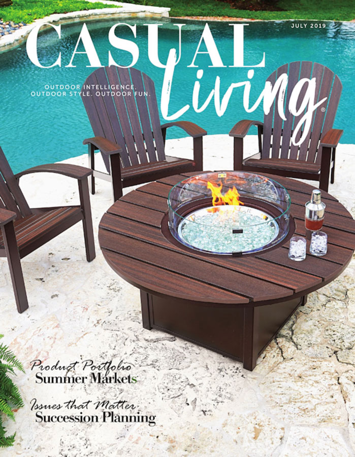 Casual Living July 2019 Cover