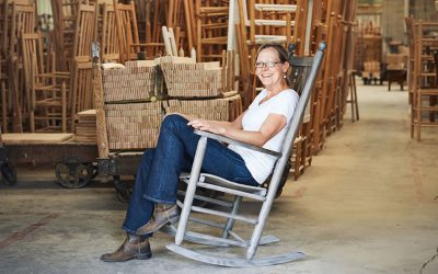 Troutman Chair Company Keeps Front-Porch Tradition Alive