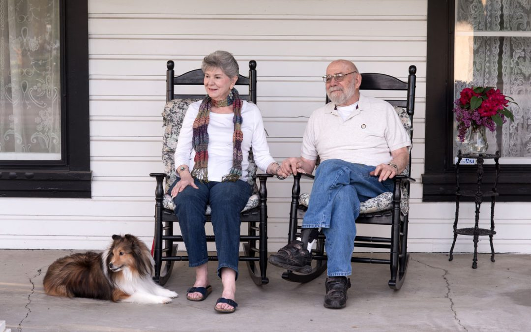Rocking Chair Relief for Alzheimer's and Dementia