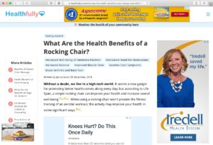 Why Rocking Chairs for Stu